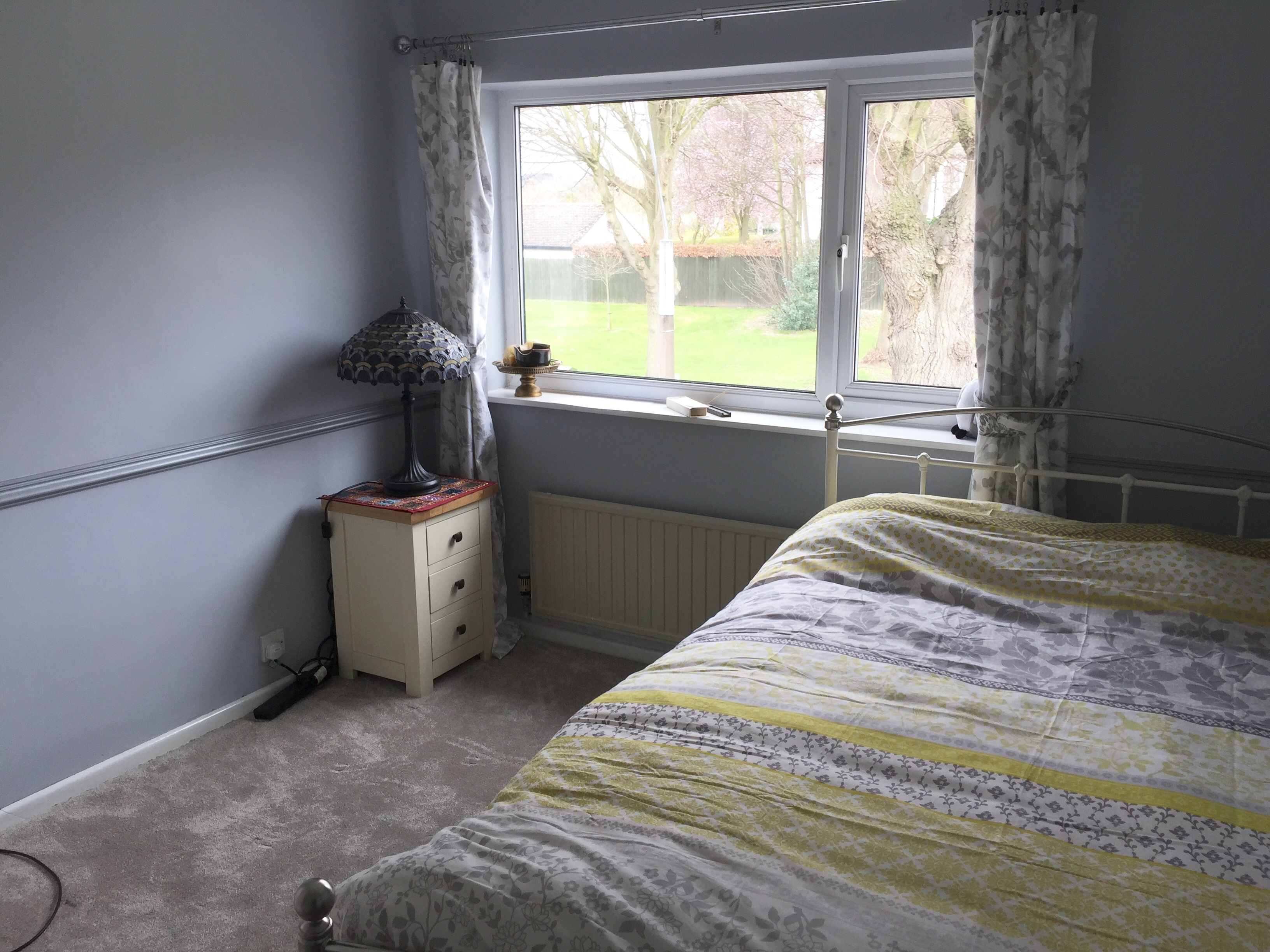 Newly refurbished double room