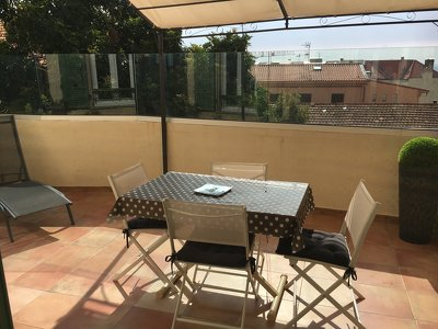 Super Studio With Large Terrace 200m From Monaco