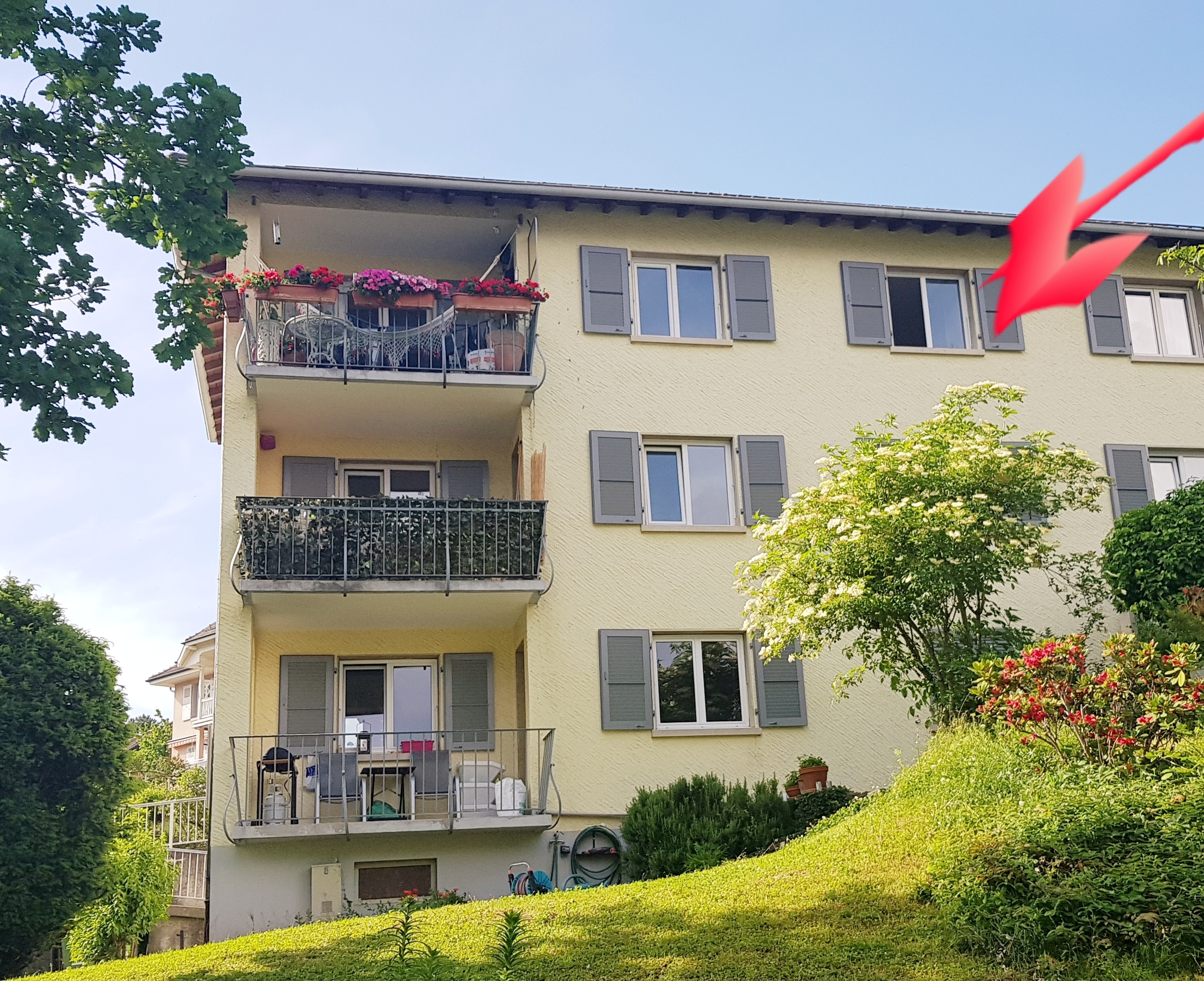Furnished room for rent on Vevey.