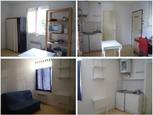 Furnished studio 15m² very good condition Paul Mistral Park