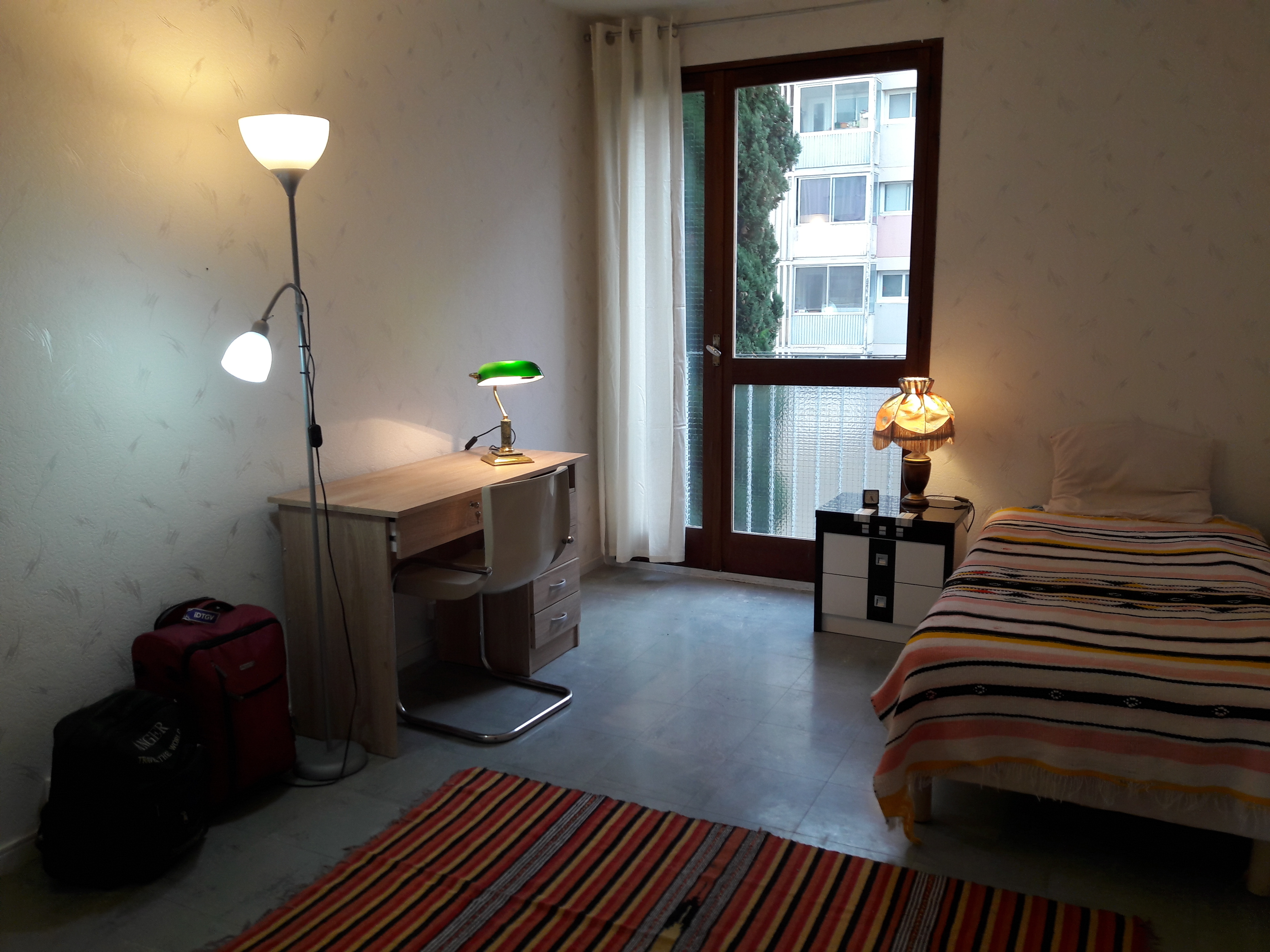 Room in a large bright T4 near the station Matabiau