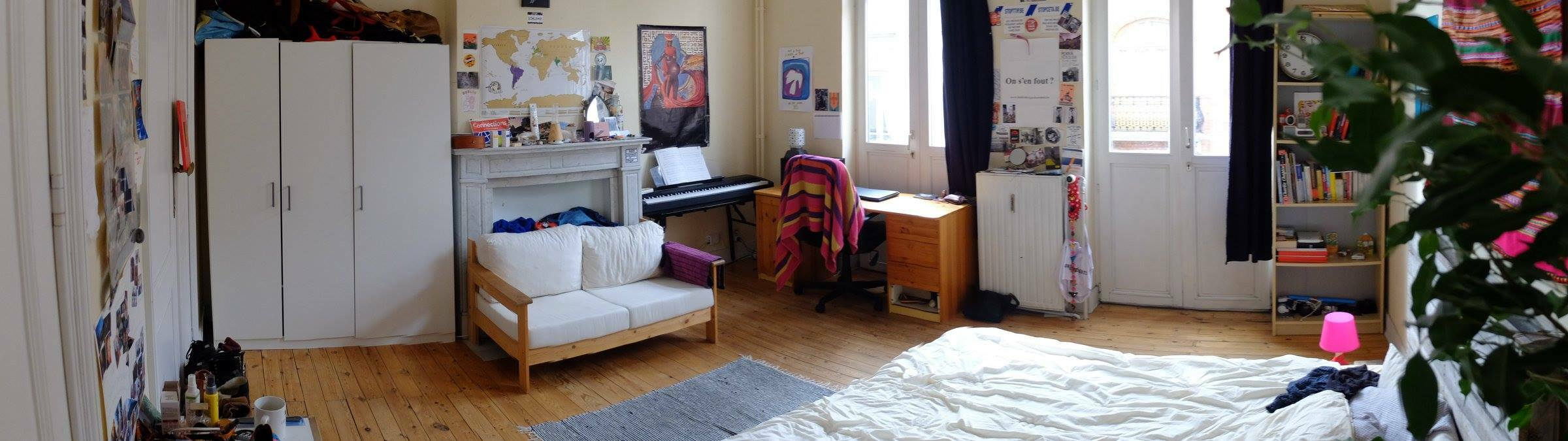 Under rent for the summer in the heart of Brussels