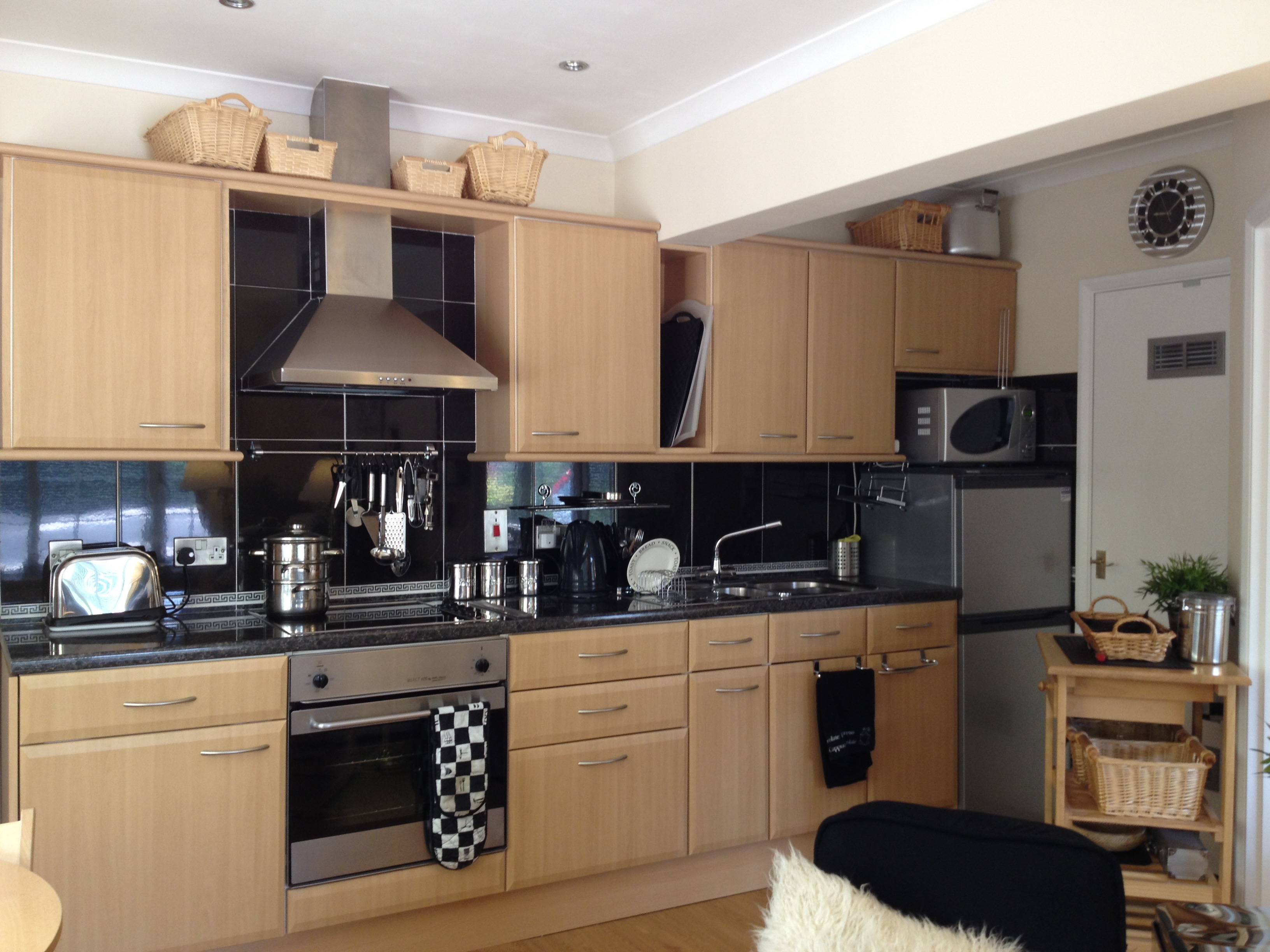 Kitchen Self catering countryside apartment