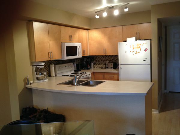Kitchen Funished Condo in downtown Toronto
