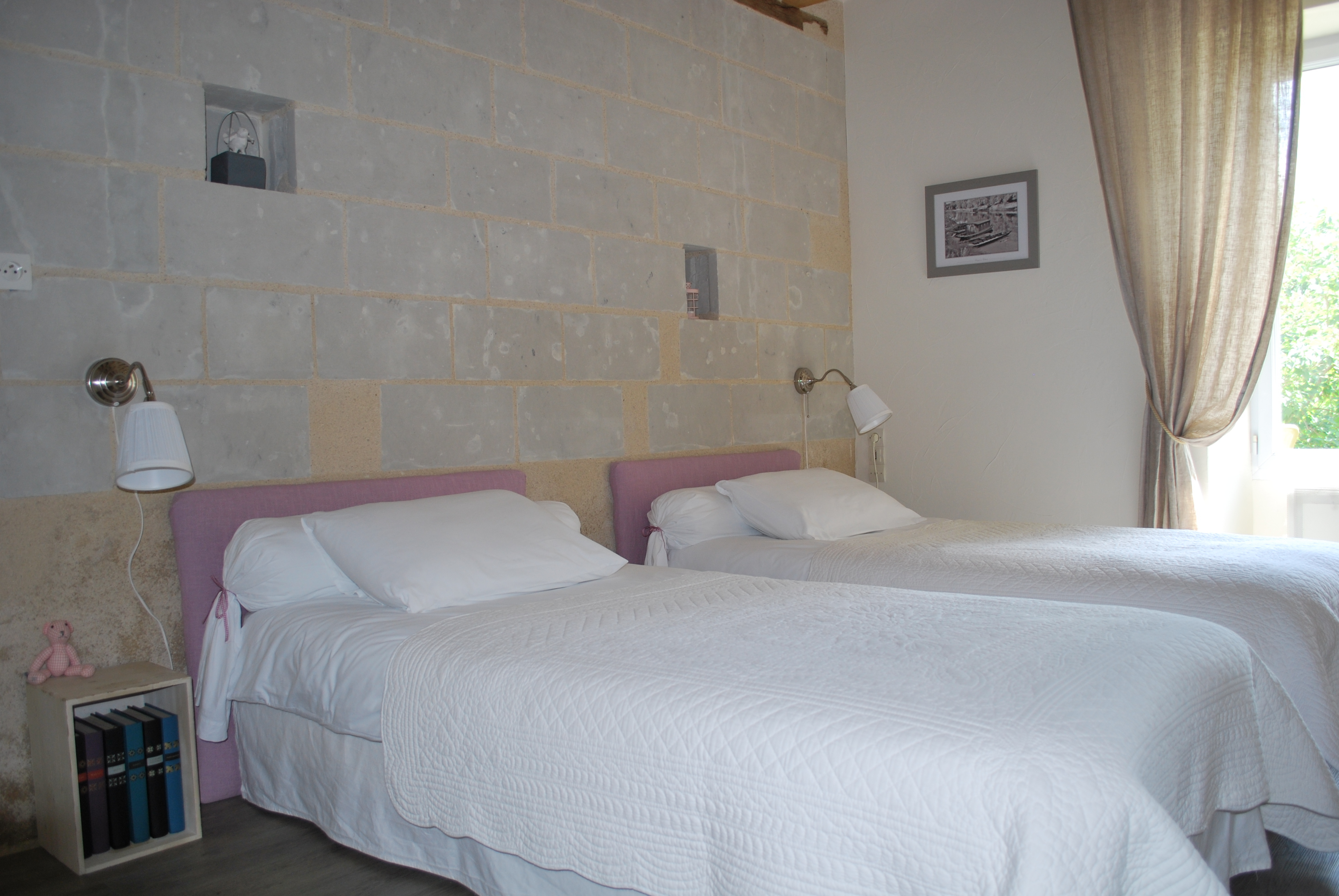 Chambres d 39 h tes pr s d 39 angers chez laure m rs erign for Chambre hote angers
